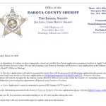 Apple Valley MN Carry Permit Applications closed… use Hastings